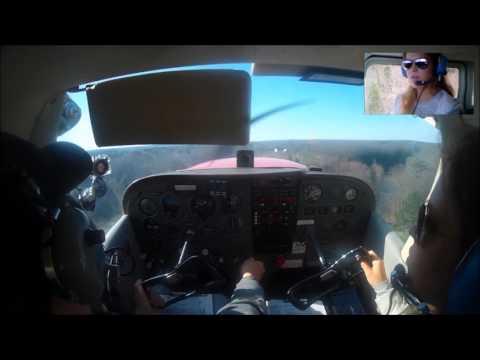 Lesson Flying Cross Country Hamburg, Bradford, Wellsville - Part 1
