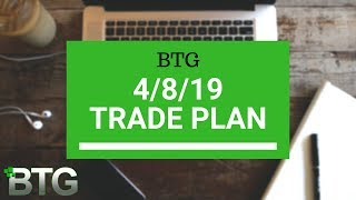 BTG 4/8/19 Trade Plan - NADEX, Futures, Forex
