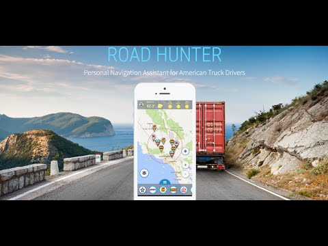 Best Gps For Truckers >> Truck Navigation Gps Road Hunter Truck Stops Apps On Google