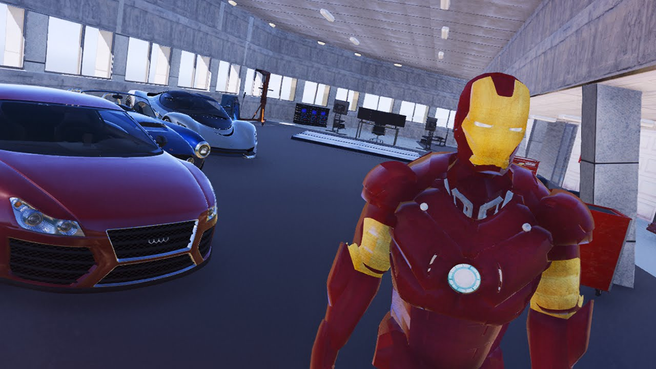 La maison de iron man dans gta 5 youtube for Maison d iron man