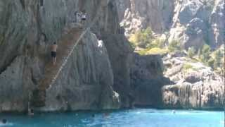 jumps Sa Calobra, torrent de pareis  #Mediterráneamente, saltos