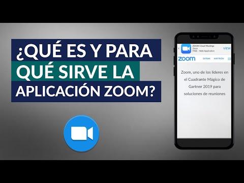 Qué es Zoom App y Para qué Sirve