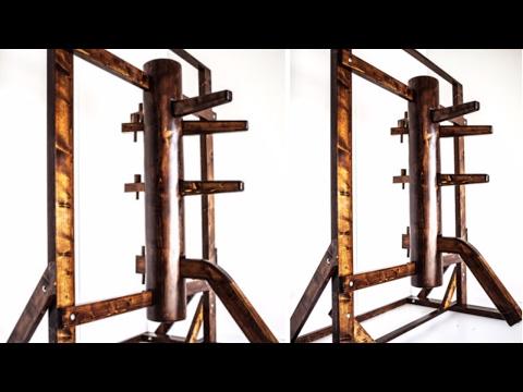 How to make a hard wood black walnut Wing Chun dummy part 1