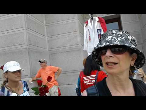 Revolutionary Communist Party at DNC, Philadelphia City Hall- 07.25.16