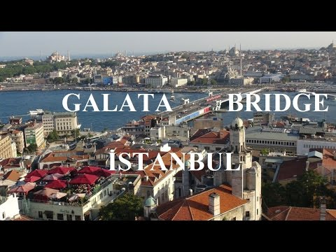 Turkey/Istanbul (Walking tour:Around Galata Bridge) Part 57