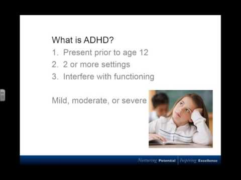 ADHD and Autism in the Mainstream Classroom