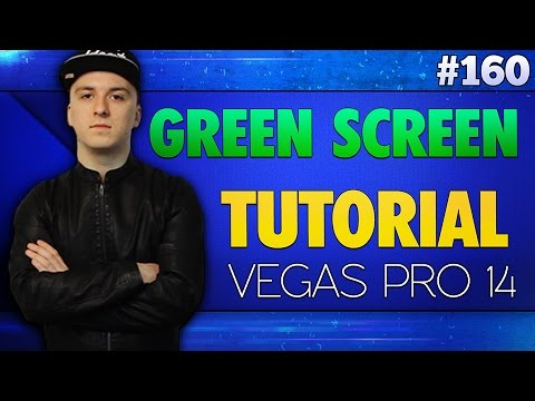 Vegas Pro 14: How To Use A Green Screen (Chroma Key) - Tutorial #160