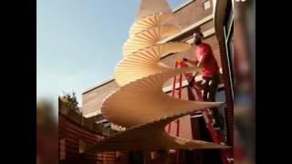 بالفيديو.. طريقة صنع شجرة عيد ميلاد رائعة من الخشب