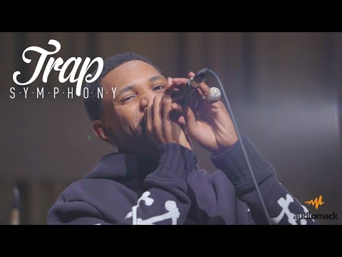"""A Boogie Performs """"Drowning"""" W/ A Live Orchestra   Audiomack Trap Symphony"""