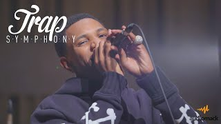 "A Boogie Performs ""Drowning"" w/ a Live Orchestra 