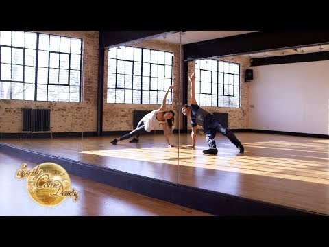 Showdance Training: Gemma & Aljaz and Joe & Katya - It Takes Two 2017 - BBC Two