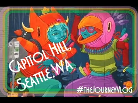Capitol Hill - Seattle, WA🏳️🌈 Gay Couple Travel Vlog