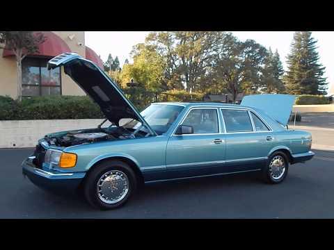 1991 Mercedes Benz 560SEL luxury sedan review and walk around.