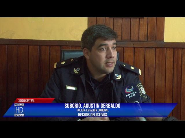 Agustin Gerbaldo  Hechos delictivos