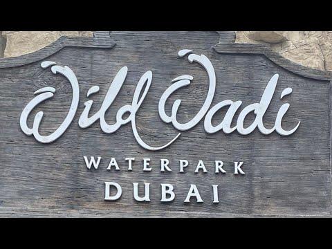 Sharjah- Wild wadi waterpark- dubai canal ride (foggy ride)