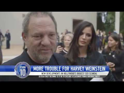 More Trouble For Harvey Weinstein   Studio 10
