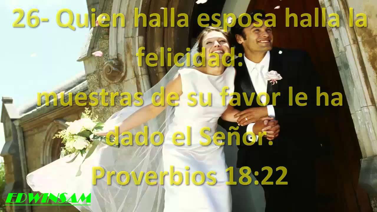 Matrimonio Versiculo Dela Biblia : Versículo de la biblia sobre bendición youtube