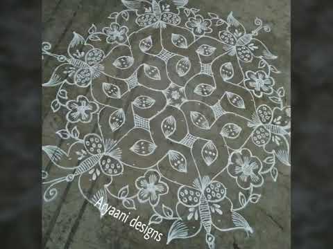 unique rangoli patterns..Some special and creative rangolies...