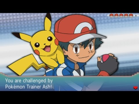 Pokemon Omega Ruby and Alpha Sapphire - Pokemon Trainer Ash (Kalos)