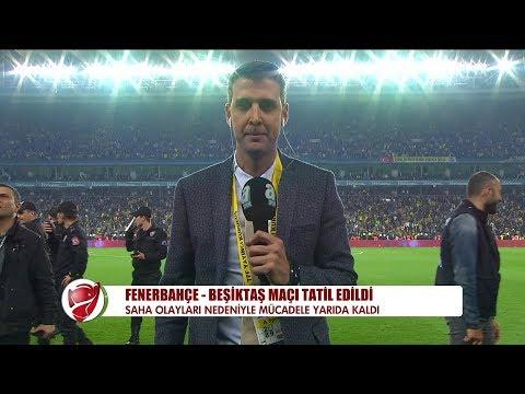 Fenerbahçe - Beşiktaş maçı tatil edildi - 19 Nisan 2018