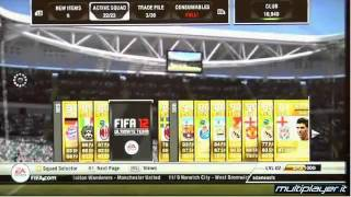 Fifa 12 Ultimate Team Gameplay   OFFICIAL