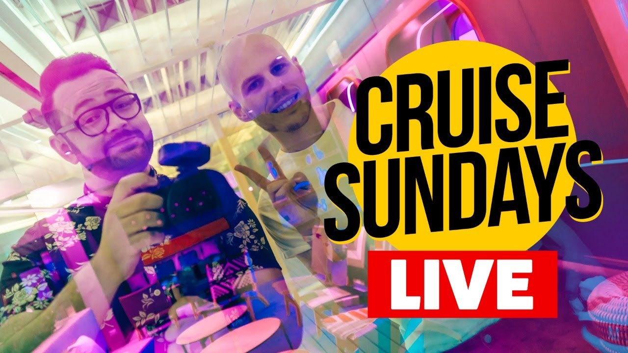 CRUISE SUNDAYS LIVE! Cruise Talk and Cocktails.