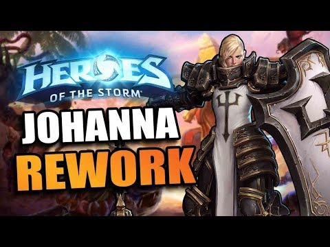 Johanna rework! // Heroes of the Storm PTR