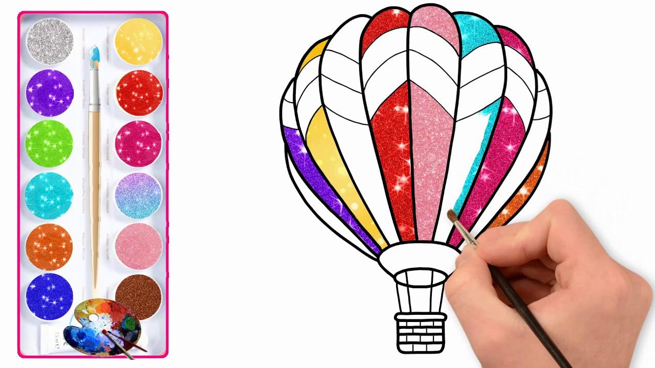 Como Desenhar Um Balao De Ar Quente Paginas Para Colorir De