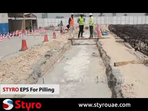 Styro EPS for Pilling and Wall Guide