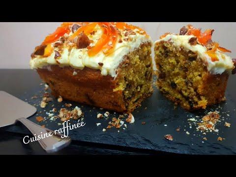 cake-aux-carottes-amandes-caramélisées-et-crème-mousseline-🥕-|-كيكة-الجزر-واللوز-المكرمل-و-الكريمة