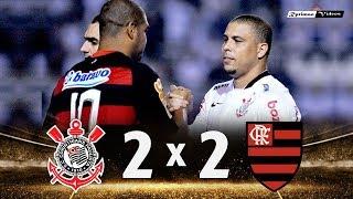 Corinthians 2 x 2 Flamengo (Ronaldo x Adriano) ● Libertadores 2010 Gols e Melhores Momentos HD