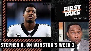 Stephen A. doesn't put too much stock in Jameis Winston's big Week 1 | First Take