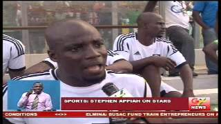 Stephen Appiah On Stars World Cup Qualifier