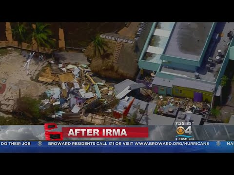 An Aerial Overview Of Hurricane Irma's Destruction Throughout South Florida