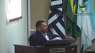 23ª Sessão Ordinária - Vereador Walmir Chaveiro