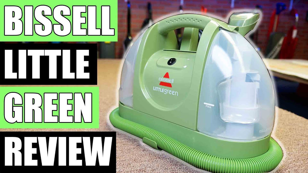 Bissell Little Green 1400B REVIEW - Multi-Purpose Portable Carpet and Upholstery Cleaner