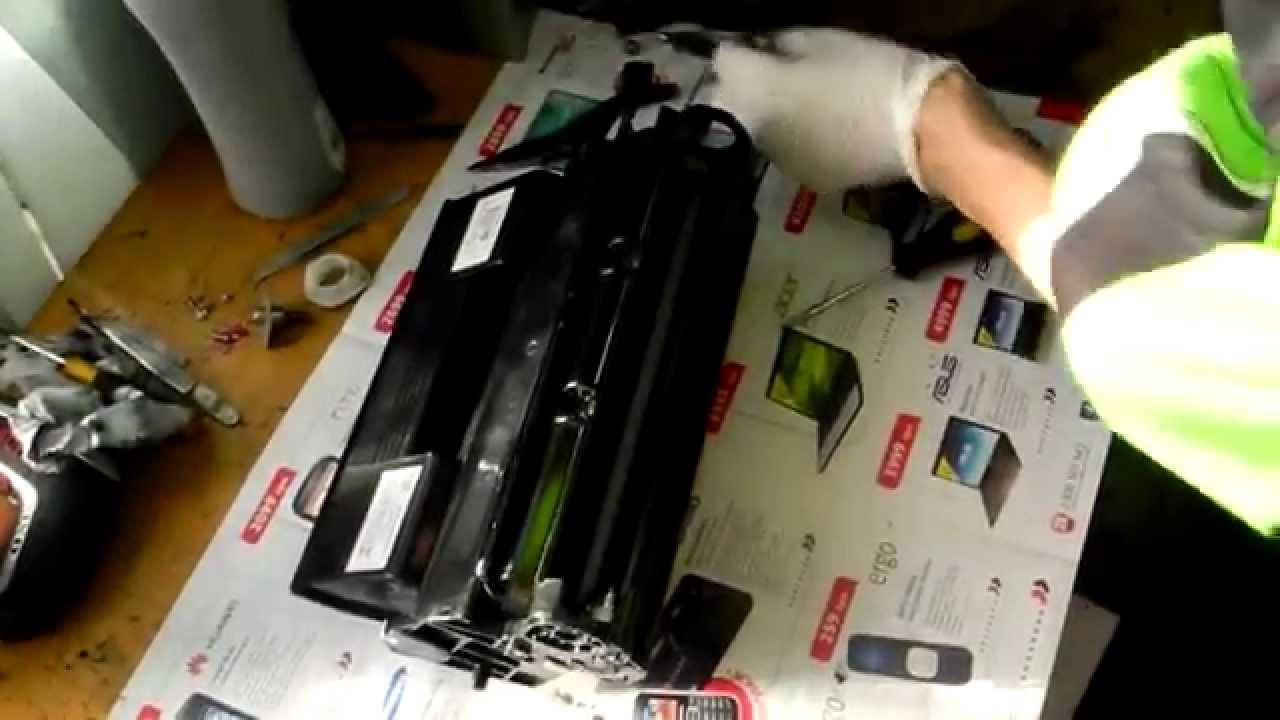 инструкция по заправке oki mb441 бледная печать