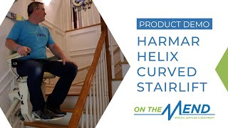 Product Demo: Harmar Helix Curved Stairlift