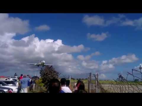 9Y-UTT Arrival - UTT Aviation Campus Couva