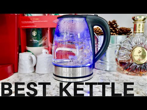 Cordless Electric Kettle Glass Boiler - Owner Review - HadinEEon
