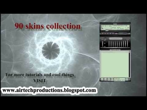 Download Winamp Best Skins Collection, Winamp Tutorial