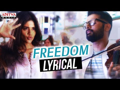 Freedom Lyrical | Lie Songs | Nithin, Megha Akash | Mani Sharma