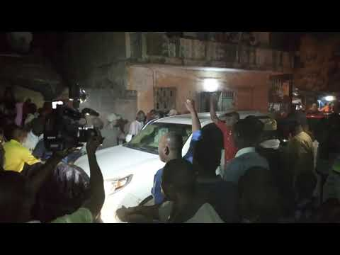 La Cominite chiites de kayes Cheick Mandiaye Barro arrive de chérif Ali Haidara alla Mosquées chia A