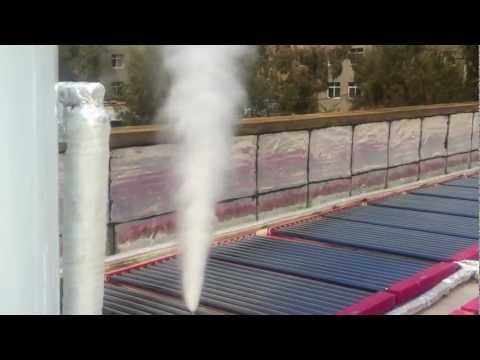 Direct Solar Steam Generator with low cost.avi