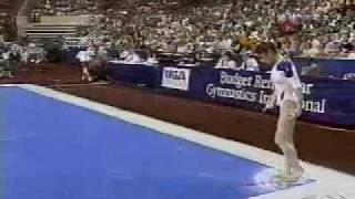 Lavinia Milosovici - 1994 USA vs Romania - Floor Exercise