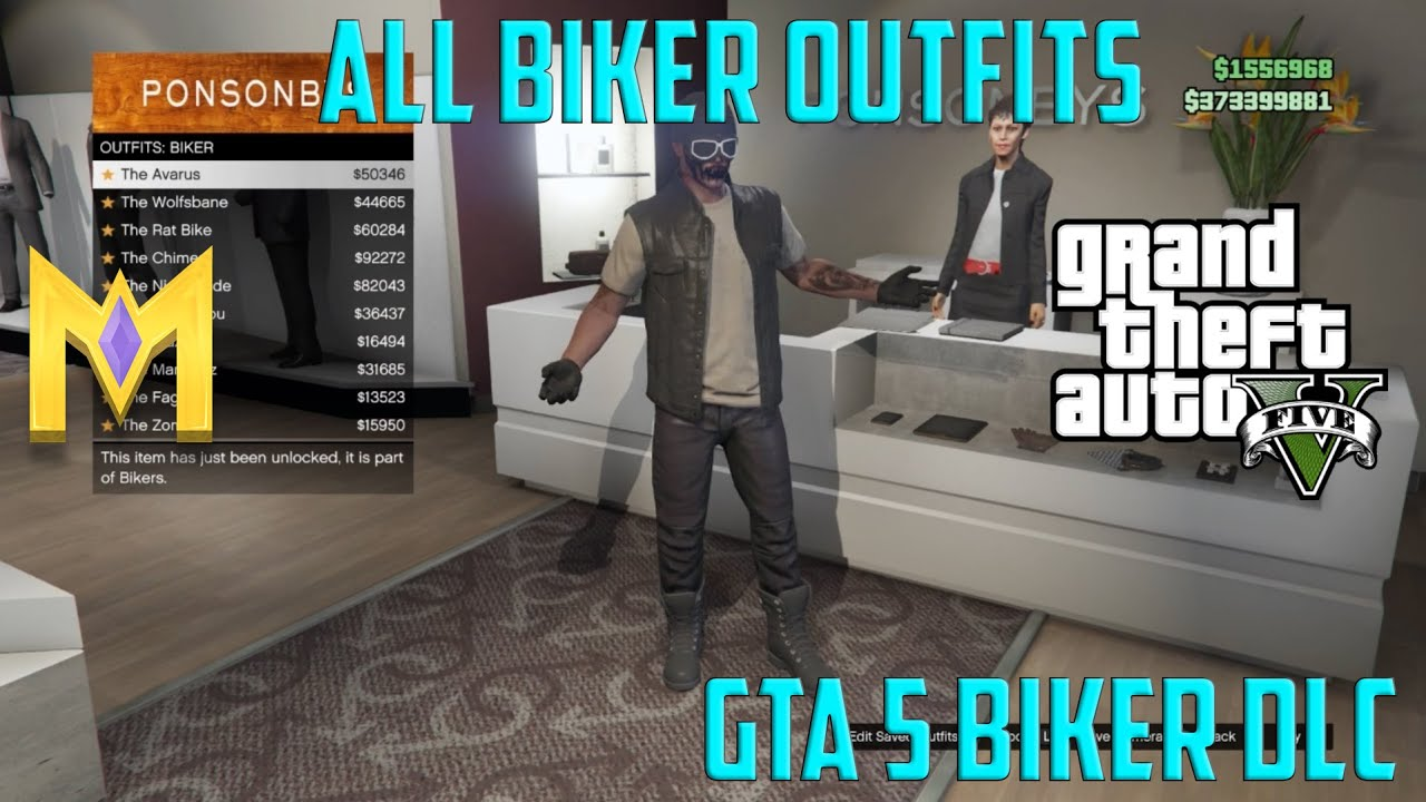 gta v how to find biker cloth