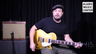 Gretsch G5435 & G5438 Electromatic Pro Jet Electric Guitar Gold Product Review and Demo