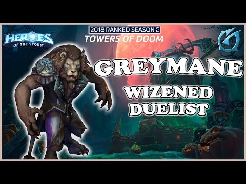 Grubby | Heroes of the Storm - Greymane - Wizened Duelist Build - HL 2018 S2 - Towers of Doom