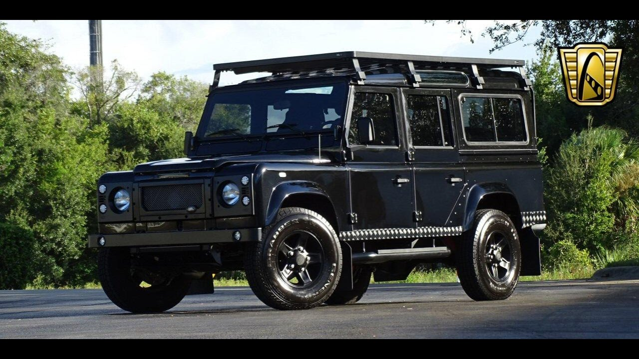 Land Rover Defender 110 For Sale >> 1988 Land Rover Defender 110 Gateway Classic Cars Orlando #592 - YouTube