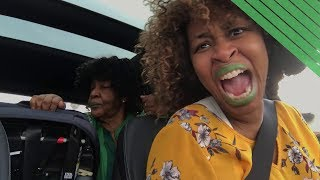 Carpool Karaoke with My Mother - GloZell xoxo